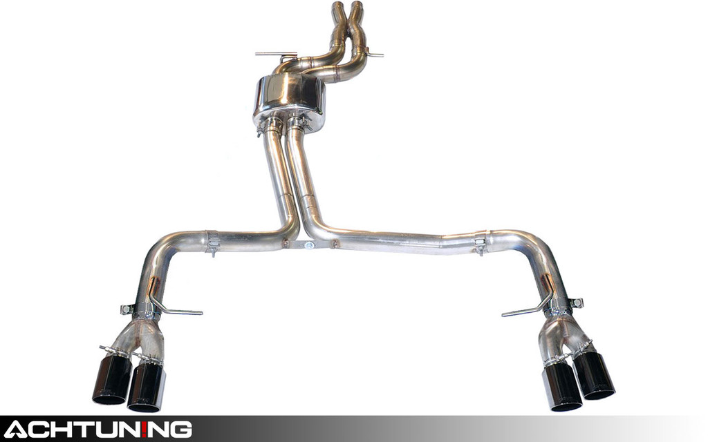 AWE Tuning 3020-43026 Catback Quad Tip Track Exhaust Audi B8.5 S4