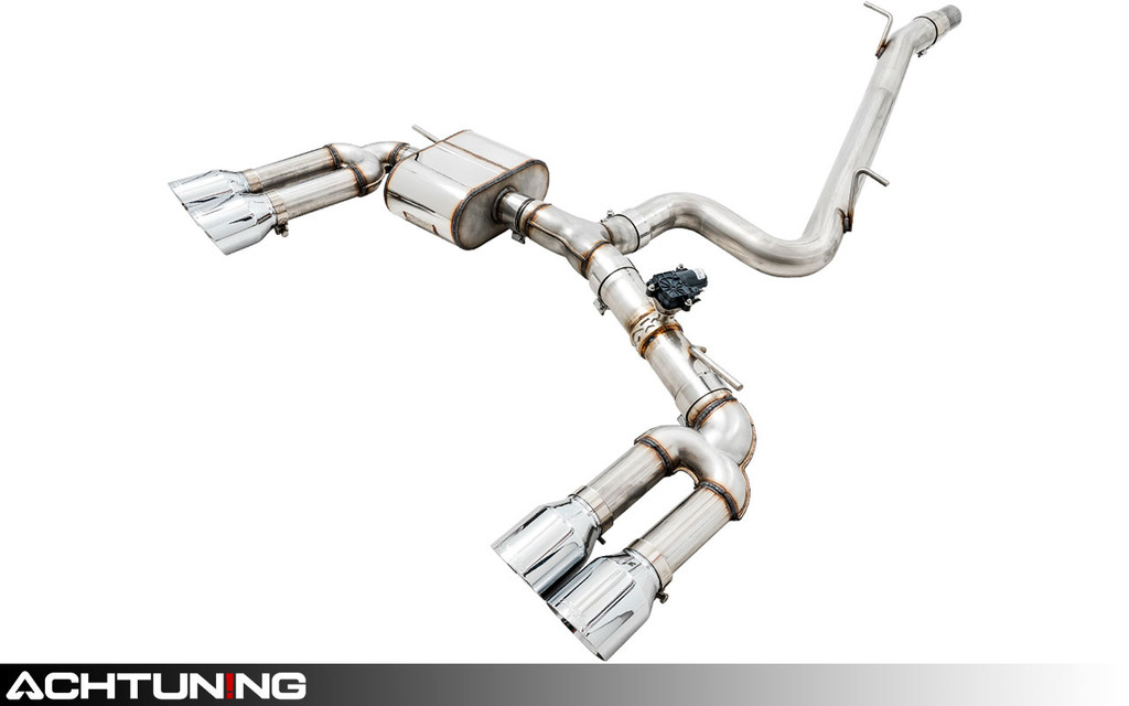 AWE Tuning 3025-42068 Catback Quad Tip Switchpath Exhaust Audi 8V S3