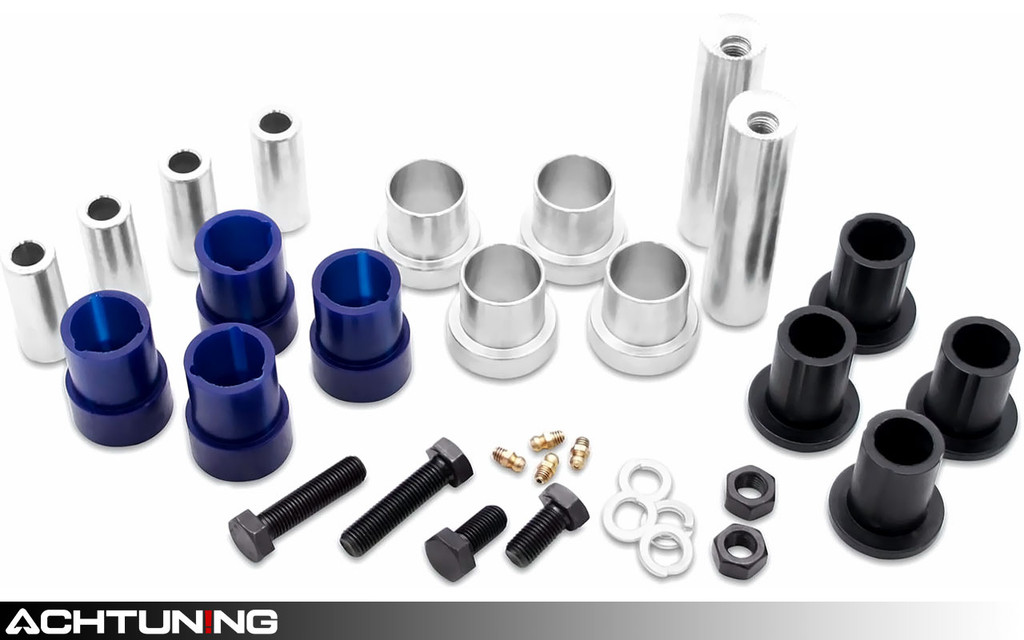 SuperPro SPF1659K Front Control Arm Upper Inner and Outer Adjustable Bushing Kit Infiniti and Nissan