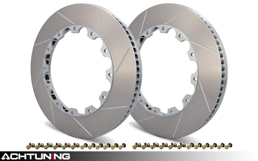 Girodisc D2-100 Rear Brake Rotor Ring Pair Audi B7 RS4