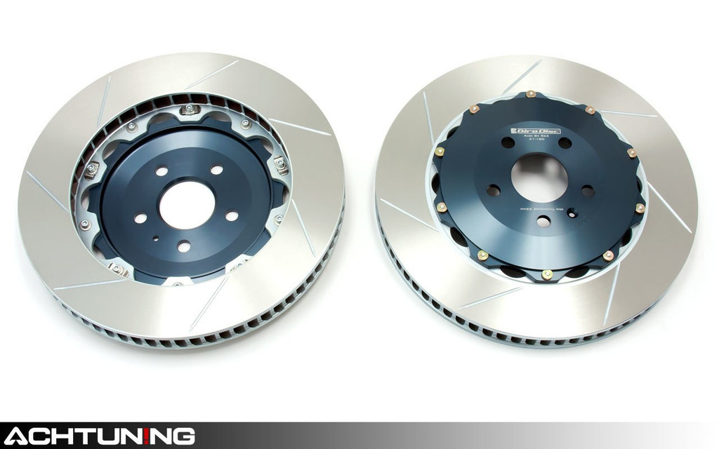 Girodisc A1-187 Front Brake Rotor Pair Audi C7 S6 S7 and D4 S8