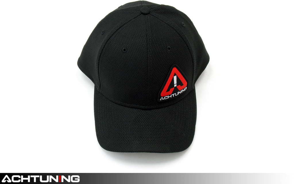 Achtuning Hat Black with Red and White Logo