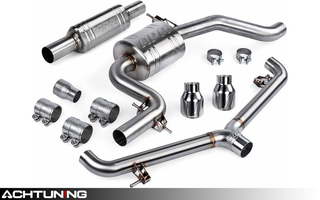 APR CBK0045 Catback Dual Tip Resonated Exhaust Volkswagen Mk6 GTI
