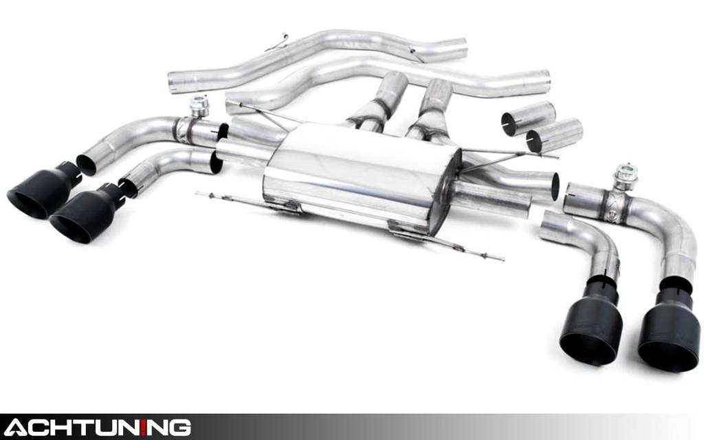 Milltek SSXAR13 Axle-back Exhaust Alfa Romeo Giulia Quadrifoglio