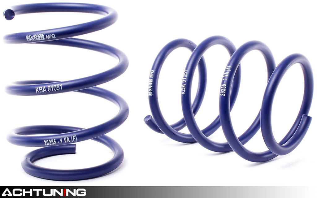 H&R 29255-3 Sport Springs BMW E60 5-Series RWD