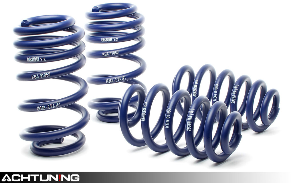 H&R 29368-2 Sport Springs Audi B6 A4 2.8L and B7 A4 3.0L Quattro
