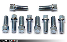 Hartmann 14mm Diameter R13 Ball Seat Lug Bolts 10 Pack