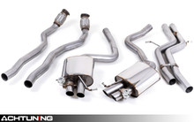 Milltek SSXAU335 Non-Resonated Catback Exhaust Audi B8 RS5
