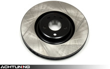 StopTech 126.33095SL 384mm Slotted Left Front Rotor Audi D3 A8 and S8