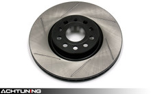StopTech 126.33098SR 312mm Slotted Right Front Rotor Audi and Volkswagen