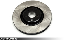 StopTech 126.33133SR 356mm Slotted Right Rear Rotor Audi