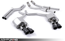 Milltek SSXAU448 Catback Quad Tip Valved Race Exhaust Audi C7 S6 and S7
