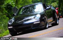 Hartmann HPO-310-SB:ML 19x10.0 ET47 wheels on Porsche 997