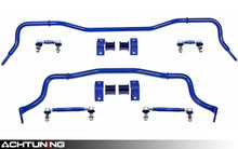 SuperPro RC0074KIT 35mm Front and 25mm Rear Hollow Adjustable Sway Bar Link and Bracket Kit Ford Mustang