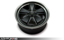 "Fuchs Fuchsfelge Forged 19"" Black Wheel Set Porsche"