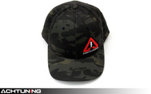 Achtuning Hat Dark Forest Camo with Red and White Logo