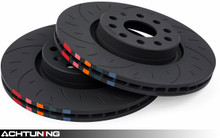 APR BRK00031 312mm Slotted Front Brake Disc Pair Audi and VW