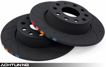 APR BRK00035 272mm Slotted Rear Brake Disc Pair Audi and VW