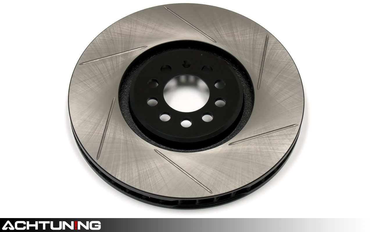 Stoptech SportStop Drilled Slotted Brake Rotors STR45024 LEFT /& RIGHT REAR