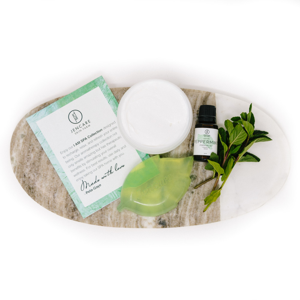 I AM SPA Collection Gift Box - Crushed Mint