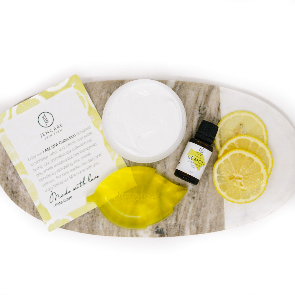 I AM SPA Collection Gift Box - Lemon Verbena