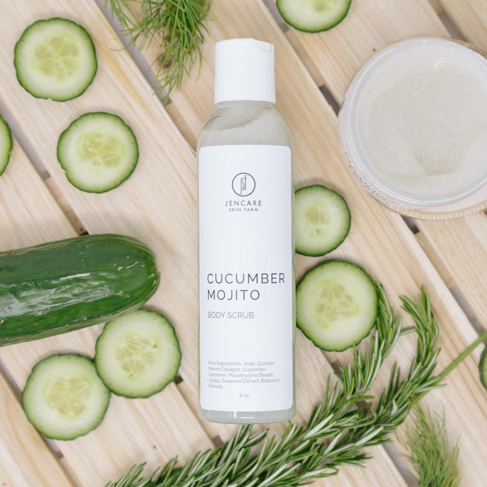 Cucumber Mojito Body Scrub