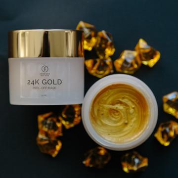 24KT Gold Peel Off Mask