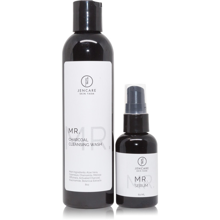 Mr. Serum and Mr. Cleansing Wash Package