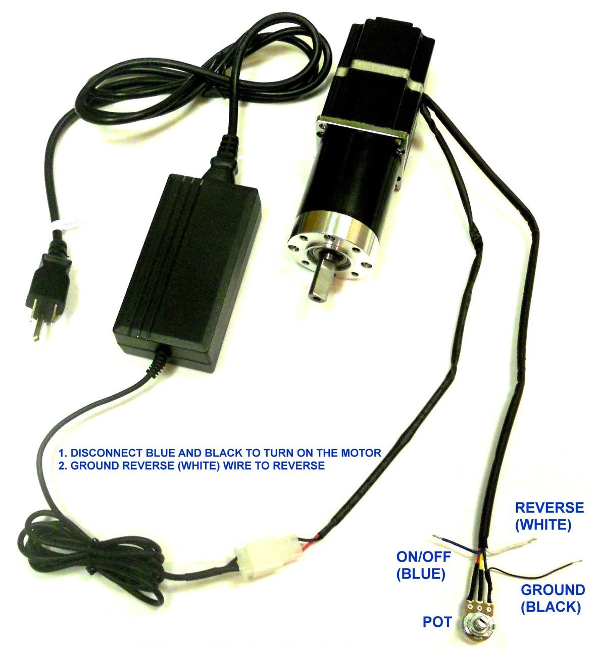 wiring diagram for ac adapter pn00211 10 rpm  rotisserie  gear motor 12v brushless dc  bldc  gear motor 12v brushless dc  bldc