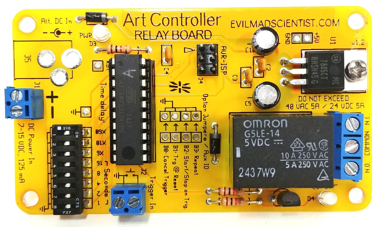 PN00118 - Digital Timing Relay Board Module Art Controller Fully  Soldered/Assembled in the USA