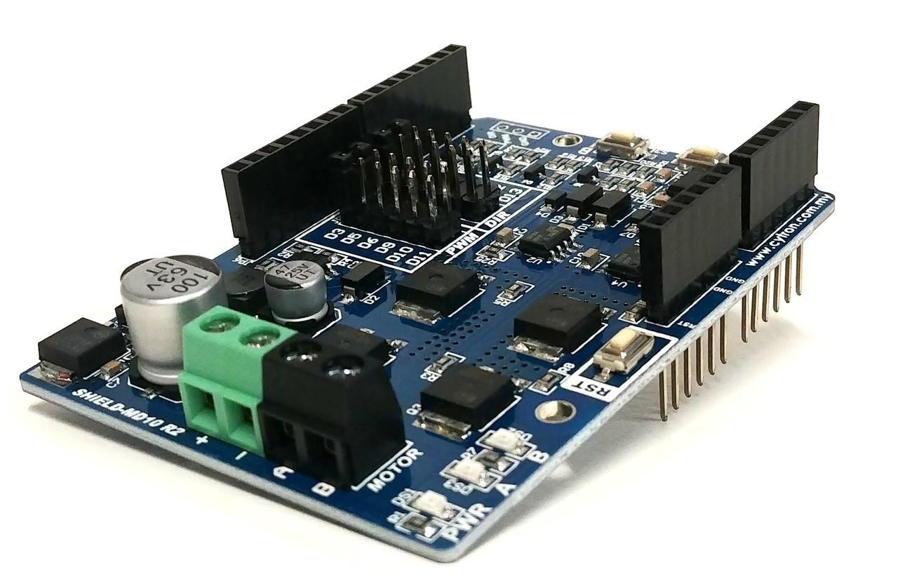 PN00218-CYT5 Cytron 10A Motor Driver (Arduino) Shield