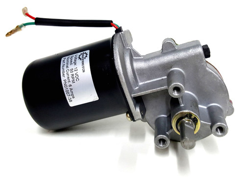 "PN01007-38 3/8"" Shaft Electric Gear Motor 12v Low Speed 50 RPM Gearmotor DC"
