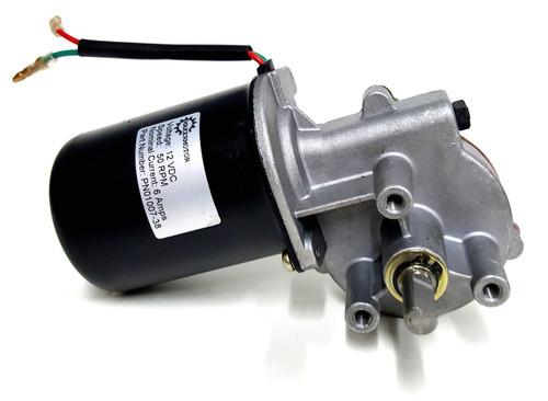 """PN01007-38 3/8"""" Shaft Electric Gear Motor 12v Low Speed 50 RPM Gearmotor DC"""
