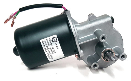 PN01007 Electric Gear Motor 12v Low Speed 50 RPM Gearmotor DC