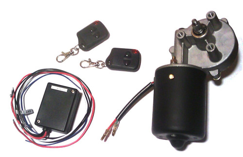 12v dc gear motor with wireless remote control