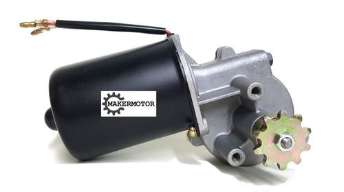 Gear Motor with Sprocket
