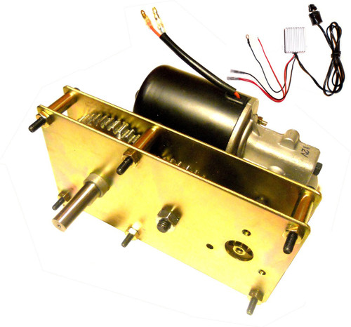 Variable Speed High Torque 5 RPM Conveyor and Rotisserie Gear Motor 12V DC Reversible