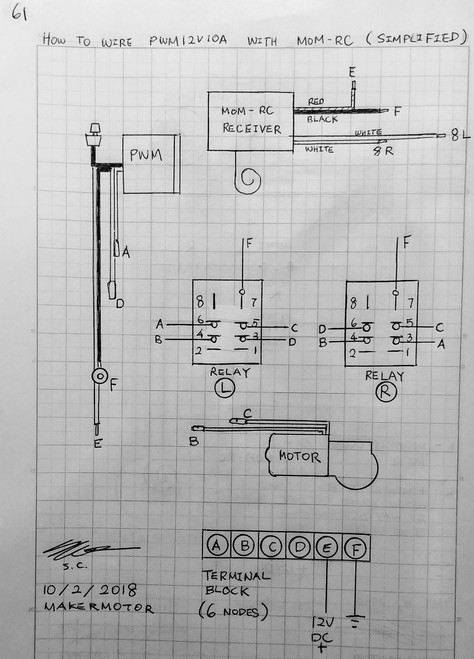 Rc Speed Controller Diagram - Wiring Diagrams