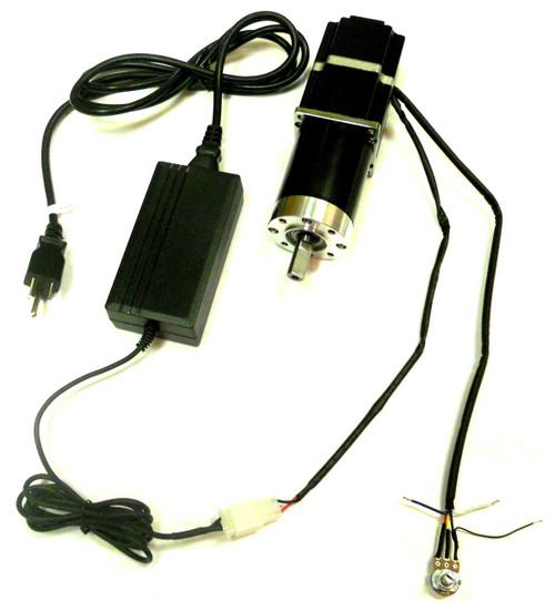 PN00211 - 10 RPM (Rotisserie) Gear Motor 12v Brushless DC (BLDC) 115V 230V Reversible Variable Speed