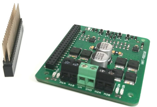 Dual Channel Motor Driver Pi Hat