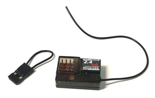 radio control receiver, 4 channels, 2.4 ghz