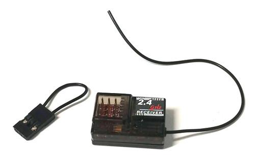radio control receiver, 4 channels, 2.4 ghz