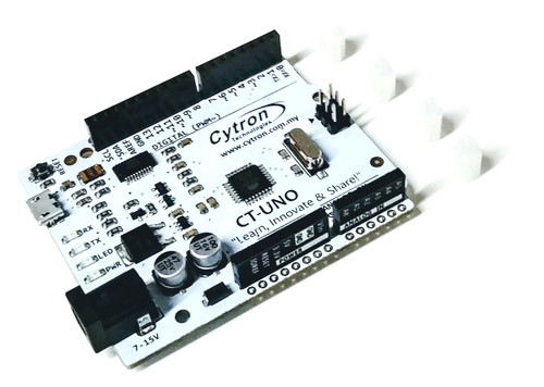 Arduino compatible board with micro B