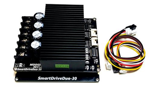 Motor Driver 30Amp 7V-35V DC 2 Channels SmartDriveDou MDDS30 (PN00218-CYT14)