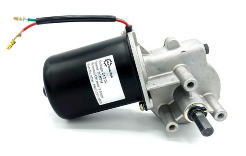 """24v dc 3/8"""" shaft gear motor"""