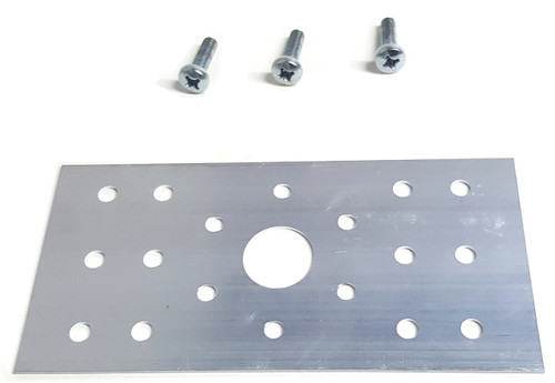 This bracket is designed to fit PN01007 and PN01107 series.  Screws are included.