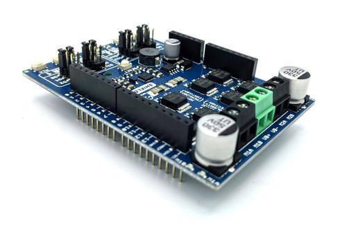 PN00218-CYT15 Cytron Dual Channel 10A 7-30V Motor Control Driver (Arduino) Shield