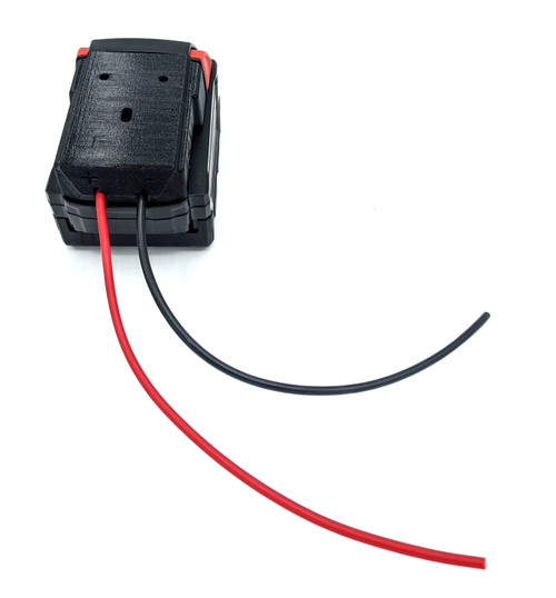 BATADPTMK - Power Tool Battery Adapter for Milwaukee M18 XC 18v Dock Power Connector 12 Gauge