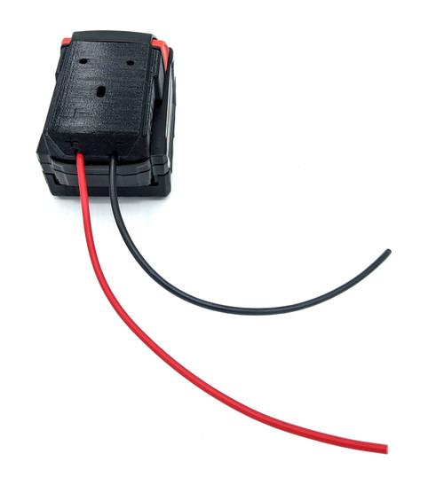 BATADPTMK - Power Tool Battery Adapter for Milwaukee M18 XC 18v Dock Power Connector 12 Gauge