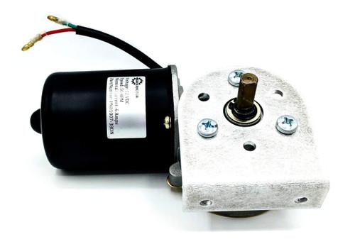 """3/8"""" D Shaft Electric Gear Motor 12v Low Speed 50 RPM Gearmotor DC + L Bracket"""